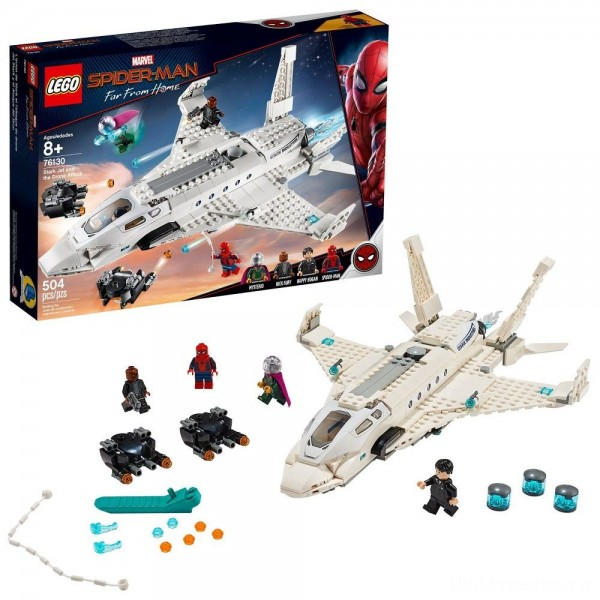 [BLACK FRIDAY] LEGO Super Heroes Marvel Spider-Man Stark Jet and the Drone Attack 76130