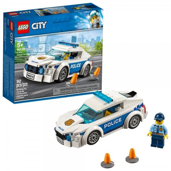 [BLACK FRIDAY] LEGO City Police Patrol Car 60239