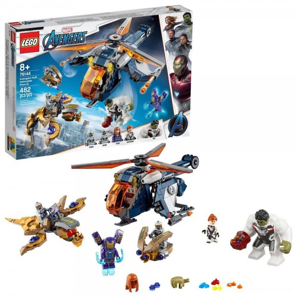 LEGO Super Heroes Marvel Avengers Hulk Helicopter Rescue 76144 [Sale]