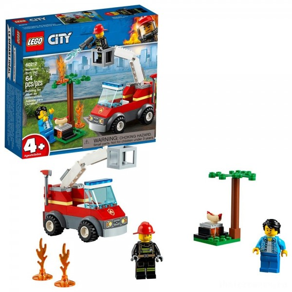 [BLACK FRIDAY] LEGO City Barbecue Burn Out 60212