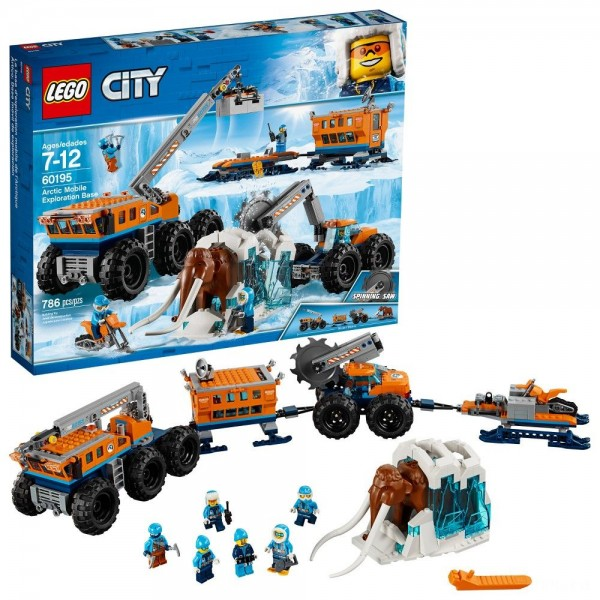 [BLACK FRIDAY] LEGO City Arctic Mobile Exploration Base 60195