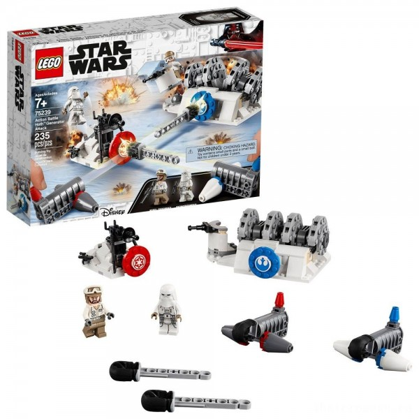 [BLACK FRIDAY] LEGO Star Wars Action Battle Hoth Generator Attack 75239
