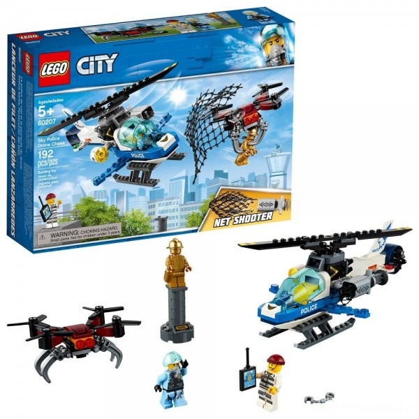 [BLACK FRIDAY] LEGO City Sky Police Drone Chase 60207