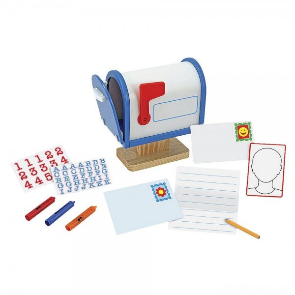[BLACK FRIDAY] Melissa & Doug My Own Wooden Mailbox Activity Set and Educational Toy