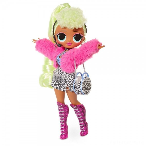 [BLACK FRIDAY] L.O.L. Surprise! O.M.G. Lady Diva Fashion Doll with 20 Surprises