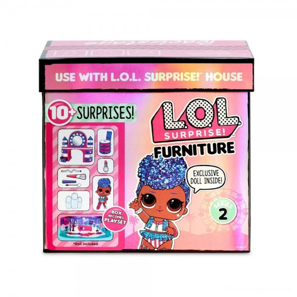 L.O.L. Surprise! Furniture Backstage with Independent Queen & 10+ Surprises [Sale]