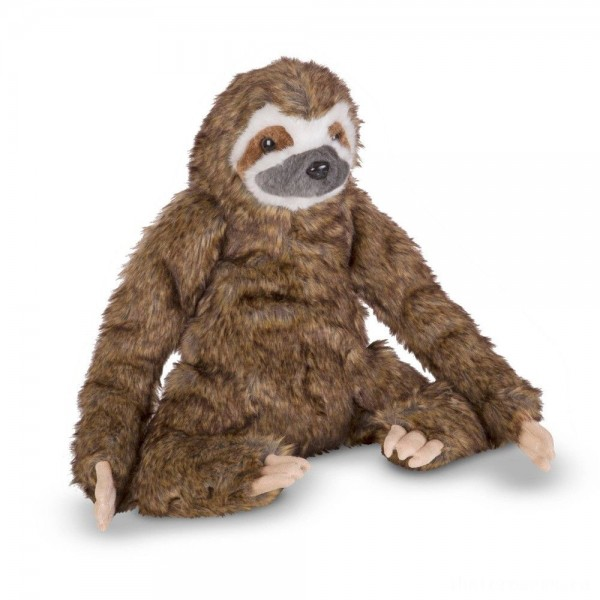 [BLACK FRIDAY] Melissa & Doug Stuffed Animal Sloth