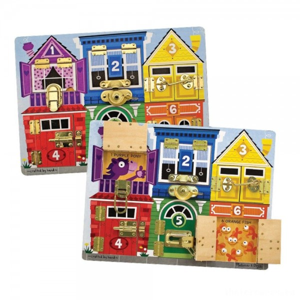 [BLACK FRIDAY] Melissa & Doug Latches Wooden Activity Board