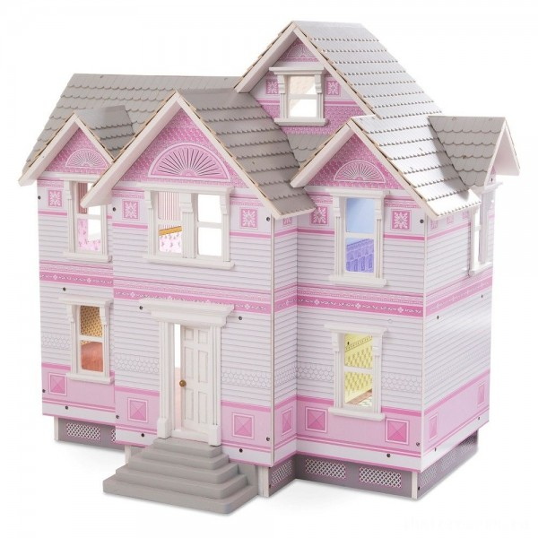[BLACK FRIDAY] Melissa & Doug Victorian Dollhouse