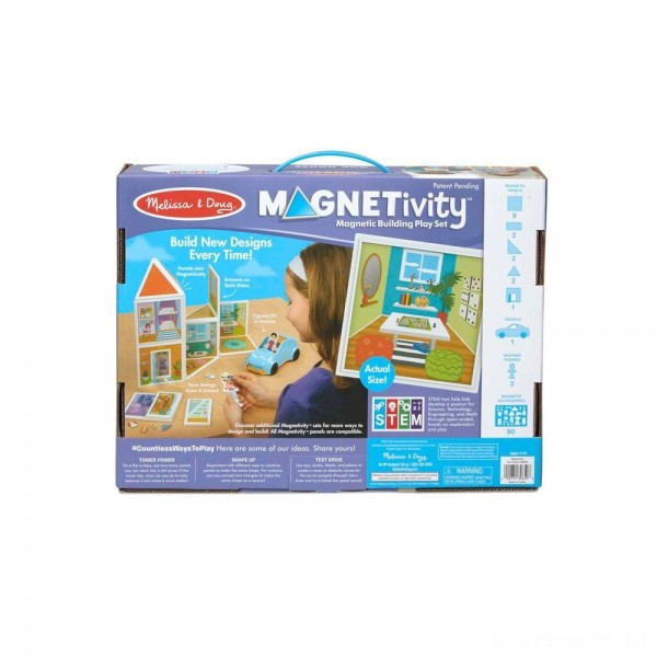 [BLACK FRIDAY] Melissa & Doug Magnetivity - Our House