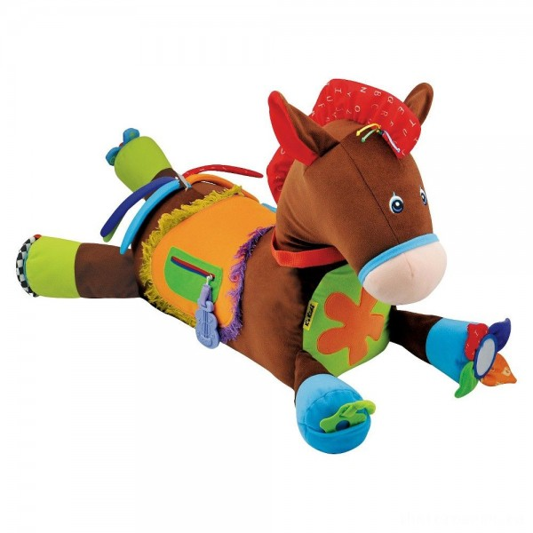 [BLACK FRIDAY] Melissa & Doug Giddy-Up and Play Baby Activity Toy - Multi-Sensory Horse
