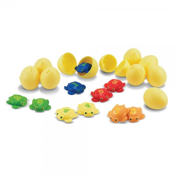 Melissa & Doug Sunny Patch Taffy Turtle Catch and Hatch Pool Game With 10 Turtles and 10 Eggs